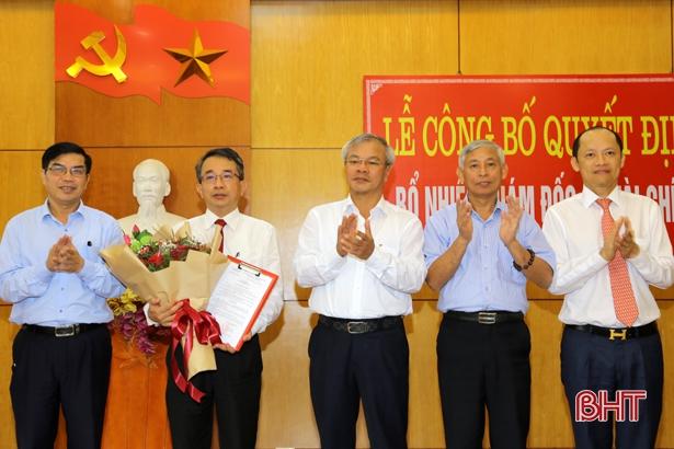 Nguyên Chủ tịch UBND TP Hà Tĩnh giữ chức Giám đốc Sở Tài chính