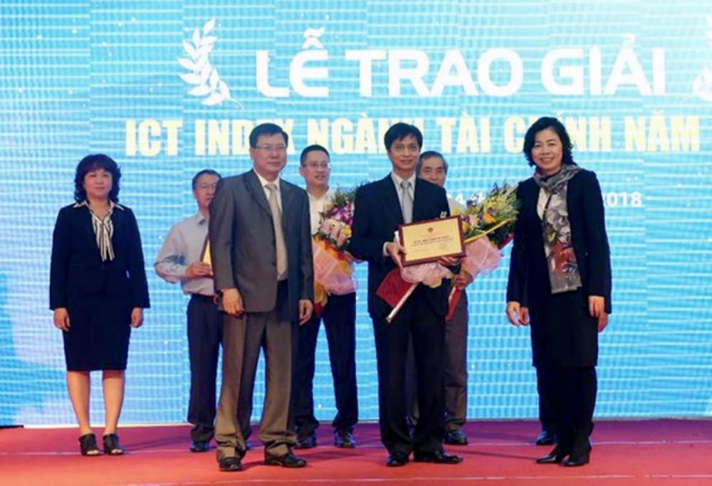 Bộ Tài chính đã công bố Báo cáo đánh giá xếp hạng mức độ sẵn sàng cho ứng dụng CNTT ngành Tài chính năm 2018 (ICT Index ngành Tài chính 2018) của 2 khối: trung ương và địa phương.