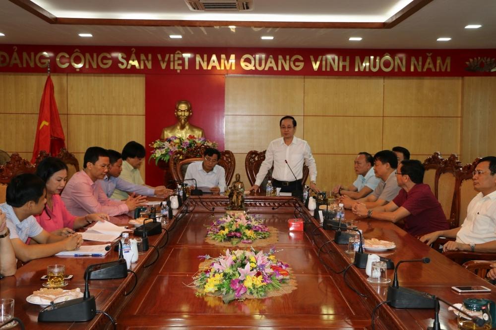 Sở Tài chính Hà Giang học tập kinh nghiệm thu hút đầu tư tại Sở Tài chính tỉnh Hà Tĩnh