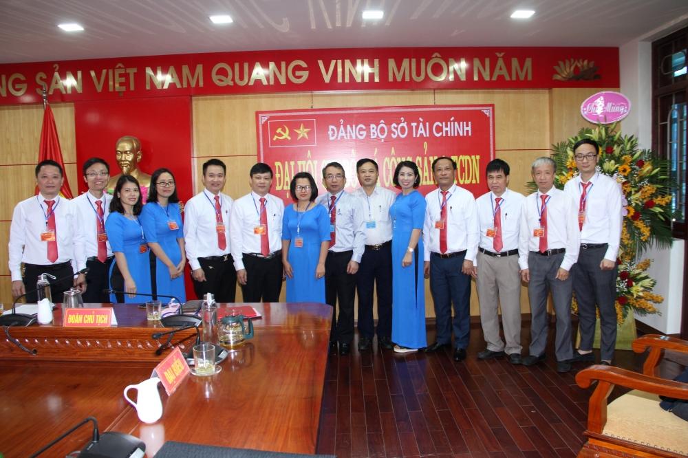 Đại hội chi bộ Giá Công sản & Tài chính doanh nghiệp thuộc Đảng bộ Sở Tài chính