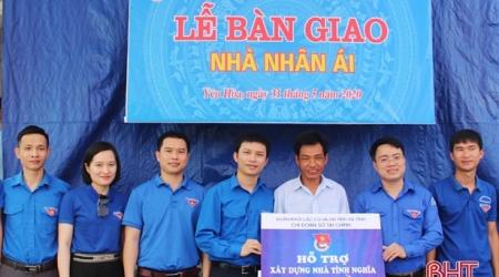 Chi đoàn Sở Tài chính Hà Tĩnh hỗ trợ 50 triệu đồng xây...