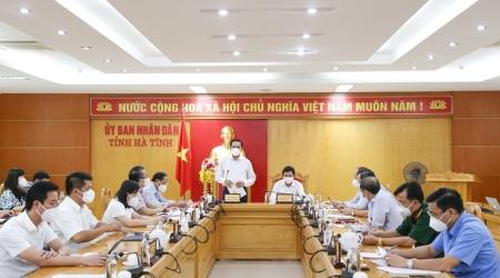Hà Tĩnh họp bàn các giải pháp phòng, chống dịch COVID-19...