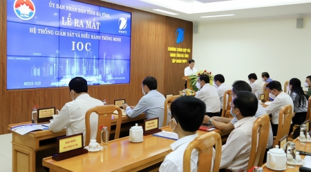 Hà Tĩnh ra mắt Hệ thống Giám sát và điều hành thông minh IOC